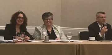 Kathy Rosenthal on panel speaking about Non-Traditional Estate Planning